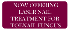 Now Offering Laser Nail Treatment
